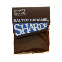Milk Salted Caramel Shards 50g