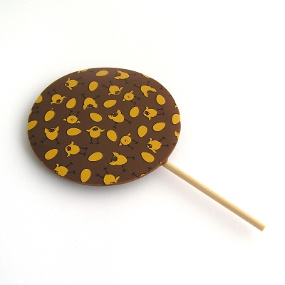 Milk Chocolate Easter Chick Transfer Lolly