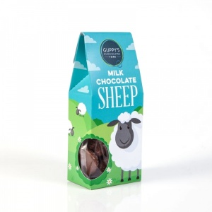Milk Chocolate Sheep Shapes