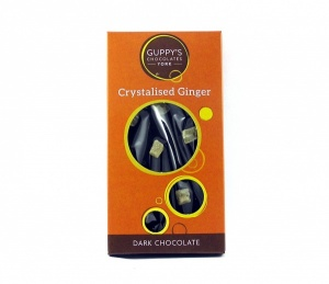 Dark Chocolate with Crystalised Ginger Bar