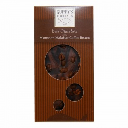 Dark Chocolate Coffee Beans Bar